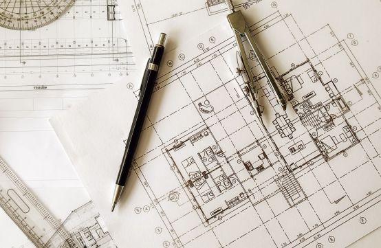 blueprint nacrt osnove stana