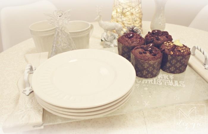 mafini cupcakes bozic novogodisnja dekoracija stola trpeza kolaci ukrasi