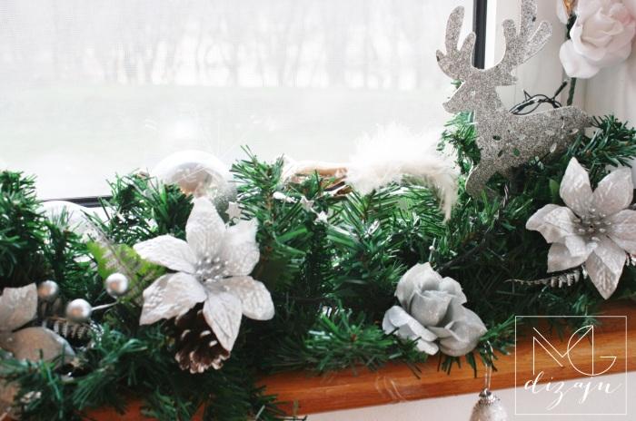 novogodisnja dekoracija stana prozor 2